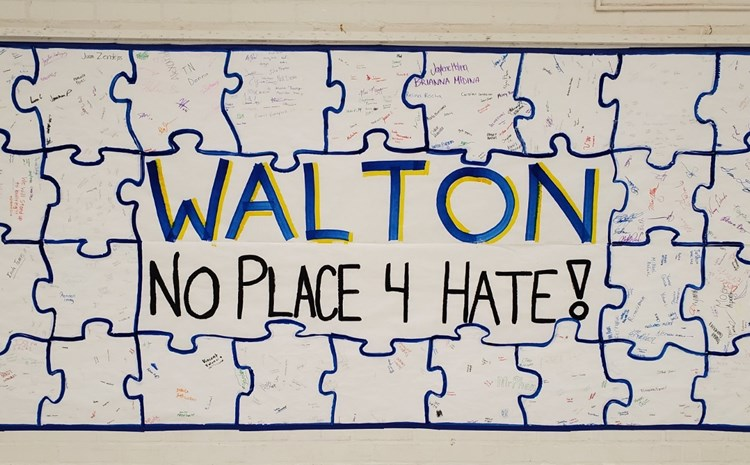 Walton Students Pledge to Stand Up Against Hate - article thumnail image