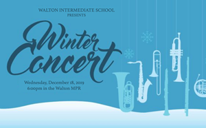 Winter Concert - Wednesday, December 18 - article thumnail image