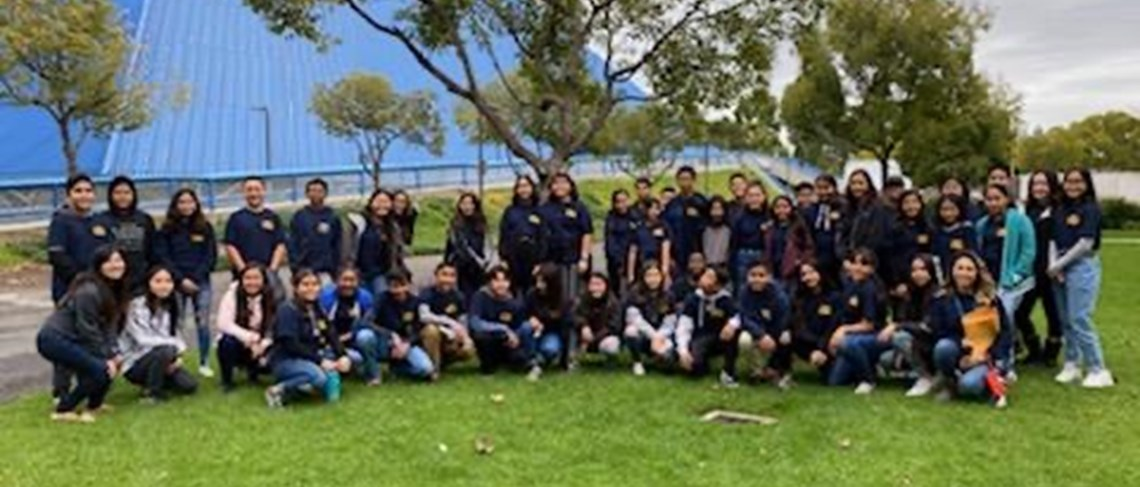 Walton AVID Students Visit Cal State Long Beach