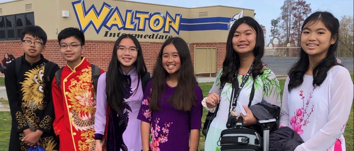Walton's International Club celebrates TET