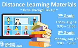 Distance Learning Materials Pick Up - article thumnail image