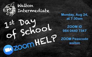 1st Day of School ZOOM Help - article thumnail image