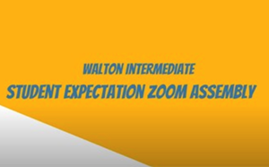 Student Expectations ZOOM Assembly - article thumnail image