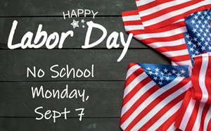No School Labor Day - article thumnail image