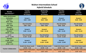 Walton Hybrid Schedule and Safety Parent Meeting - article thumnail image
