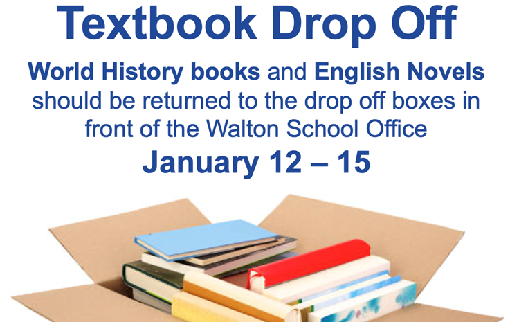 Textbook Drop Off - article thumnail image
