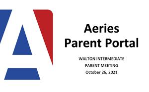 Parent Ed Meeting: Aeries Parent Portal - article thumnail image